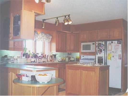 Kitchen of home for sale in Calgary
